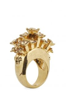 Alexander McQueen skull ring - was £195, now £96