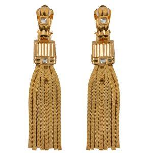 LANVIN Tass Earrings - £340