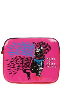 Marc by Marc Jacobs cat print tab let case - was £65, now £32.50 copy