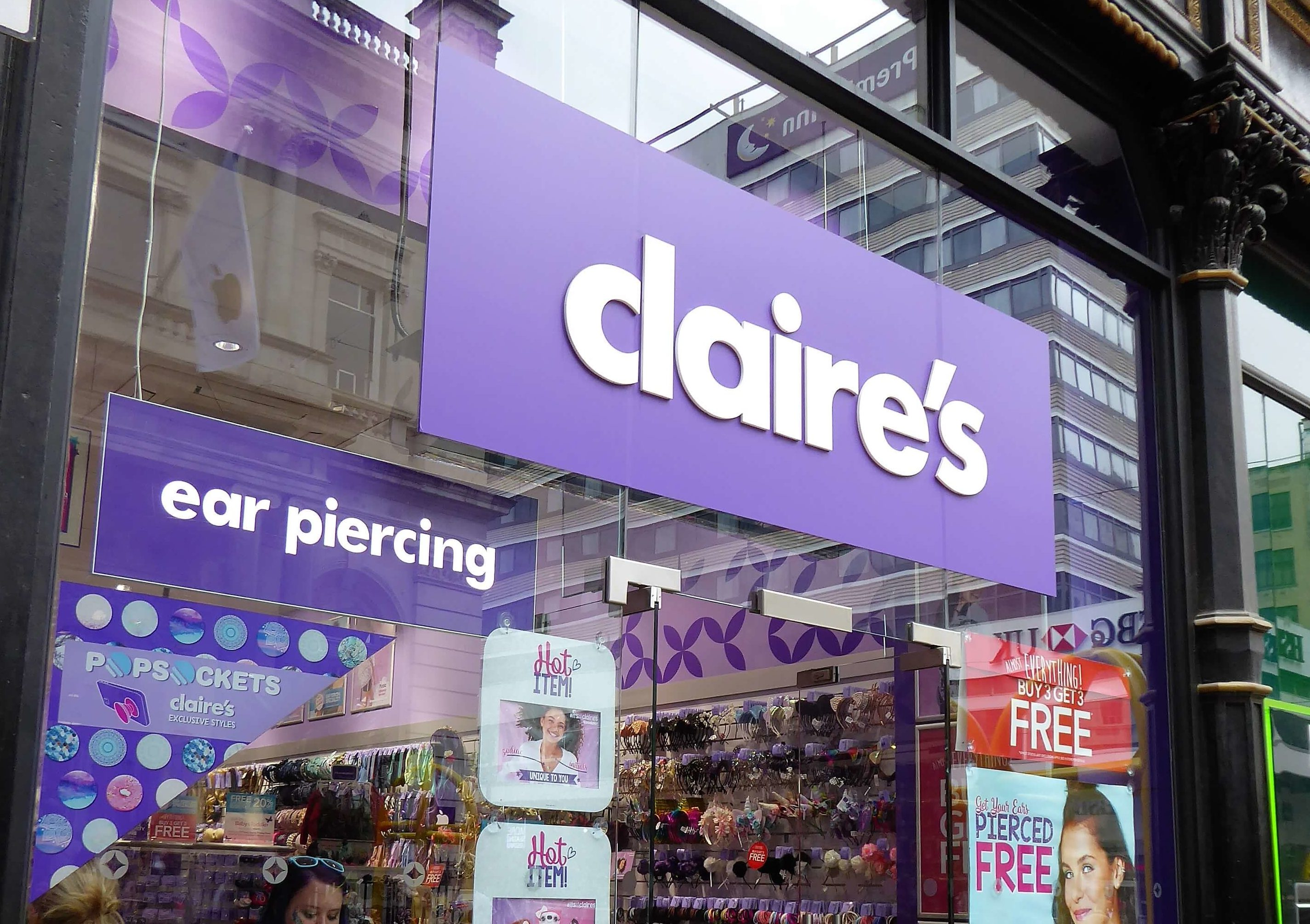 Claire's - New Street   Shopping in Birmingham