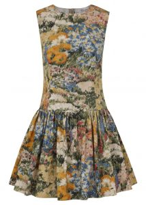 Red Valentino floral dress - was £360, now £180
