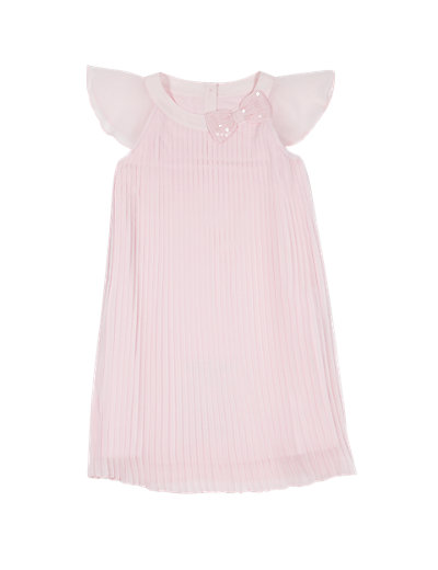 Sequin Embellished Bow Pleated Dress (1-7 Years) £26-£28