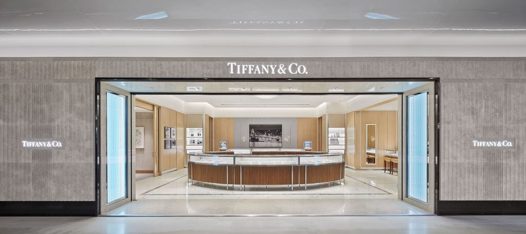a7c85faf0 Tiffany & Co. celebrates the opening of its new store on the 4th floor of  the luxury department store Selfridges Birmingham.