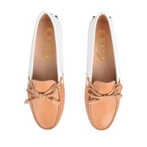 TODS Heaven Patent Leather Loafers - £270