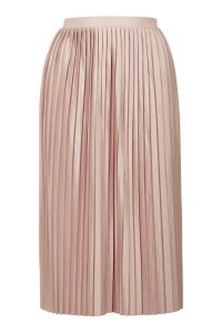 JERSEY PLEAT MIDI SKIRT £32, TOPSHOP (BULLRING)