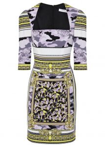Versace Collection stretch crep e dress - was £510, now £255