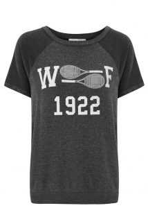 Wildfox tennis T-shirt - was £85, now £43
