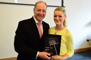 w181 Recognition Award, Jonathan Cheetham (Retail Birmingham) and Jess Bates (Coast)