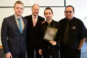w184 Recognition Award, Warehouse : Merchandising Team, Currys PC World