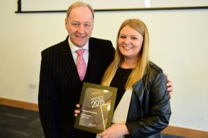 w198 Recognition Award, Jonathan Cheetham (Retail Birmingham) and Lucy Jowicz (New Look)