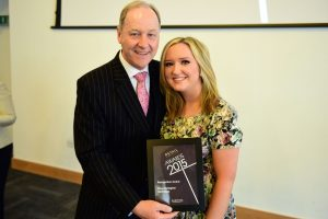 w201 Recognition Award, Jonathan Cheetham (Retail Birmingham) and Rose Gallagher (Selfridges)