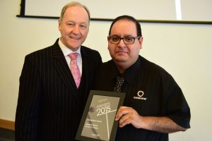 w205 Recognition Award, Jonathan Cheetham (Retail Birmingham) and Abbs Merali (Currys PC World)