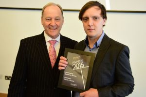 w206 Recognition Award, Jonathan Cheetham (Retail Birmingham) and Phil Hilson (House of Fraser)