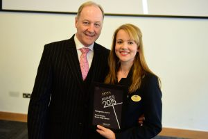 w209 Recognition Award, Jonathan Cheetham (Retail Birmingham) and Nicola Brown (Boots High St)