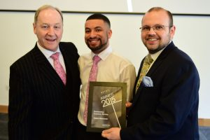w216 Recognition Award, Outstanding Customer Service, Slaters Menswear