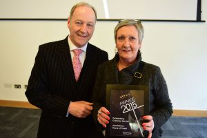 w236 Recognition Award, Outstanding Customer Service, Jane Simms (House of Fraser)